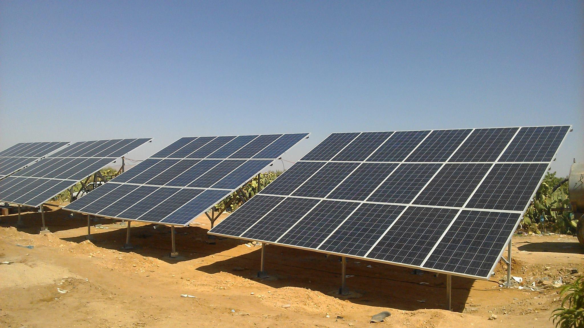 Pompage-solaire